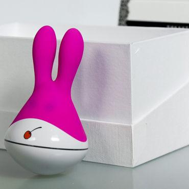 Пикантные штучки Зая, розовый Клиторальный вибратор
