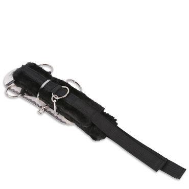 Пикантные штучки Мягкий набор для бондажа Ошейник и наручники