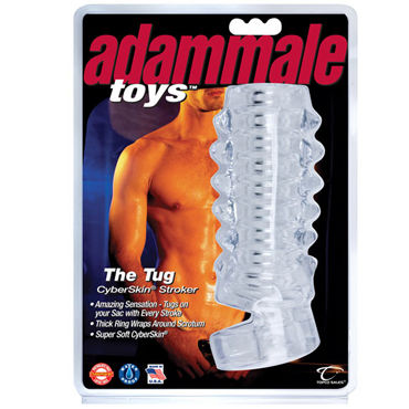 Topco Adam Male Toys The Tug CyberSkin Stroker Насадка на пенис