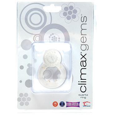 Topco Climax Gems Quartz Ring Эрекционное кольцо с вибрацией