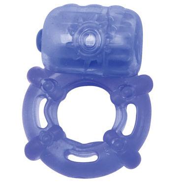 Topco Climax Juicy Rings, голубой Эрекционное кольцо с вибрацией