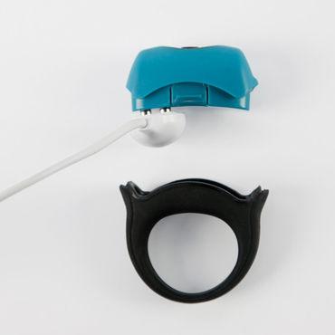Topco Polar Night Vibrating Silicone Cock Ring Эрекционное кольцо с вибрацией