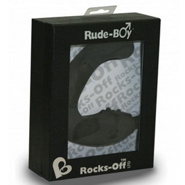 Rocks Off Rude Boy, черный Вибратор для стимуляции простаты