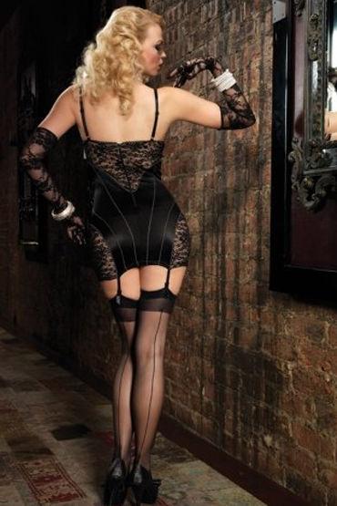 Leg Avenue мини-платье С ажурными вставками