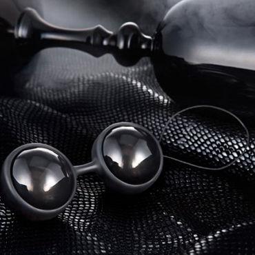 Lelo Luna Beads Noir Миниатюрные вагинальные шарики с шикарным дизайном