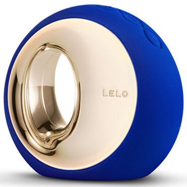 Lelo Ora, темно-синий Инновационный стимулятор, имитирующий оральные ласки