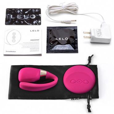 Lelo Tiani 3, розовый Усовершенствованный вибромассажер для пар, с дистанционным управлением