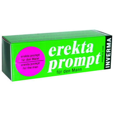 Inverma Erekta Prompt, 13 мл Возбуждающий крем для мужчин