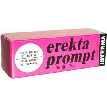 Inverma Erekta Prompt, 13 мл Возбуждающий крем для женщин