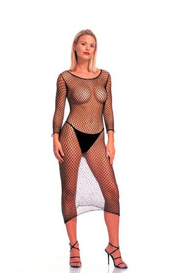 Leg Avenue платье-сетка С длинным рукавом