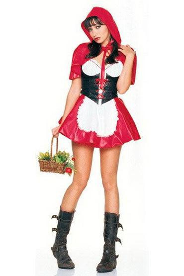 Leg Avenue Красная Шапочка Эротический костюм