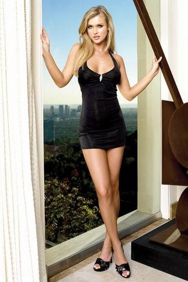 Leg Avenue платье Мини, черного цвета