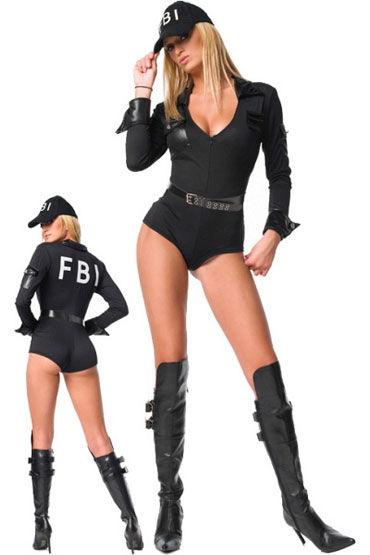 Leg Avenue Агент ФБР С надписью на спине