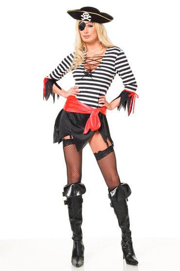 Leg Avenue Головорез Сексапильный пиратский костюм