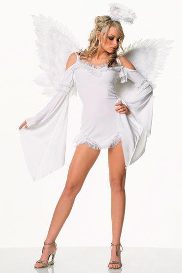 Leg Avenue Ангелочек Эротический костюм с нимбом в комплекте