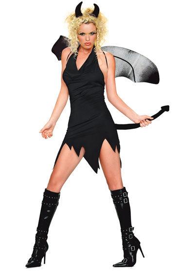 Leg Avenue Дьявол Платье с хвостом