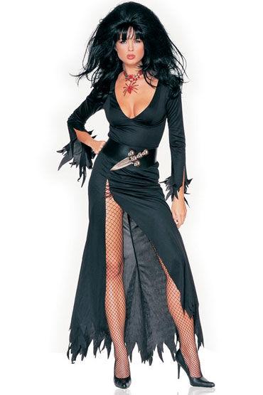 Leg Avenue Злая ведьма Длинное платье с кинжалом на поясе