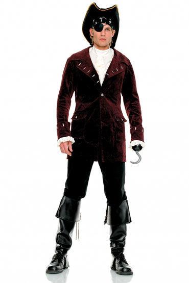 Leg Avenue Пират, Шикарный мужской костюм - Размер: ML