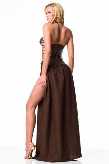 Leg Avenue Slave Princess Длинное платье с вышивкой на корсете