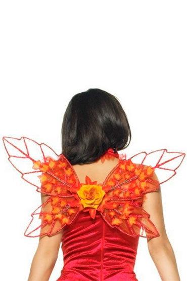 Leg Avenue крылья Ярко-оранжевого цвета
