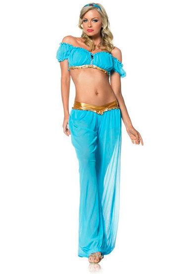 Leg Avenue Восточная принцесса, Очаровательный полупрозрачный наряд - Размер: ML