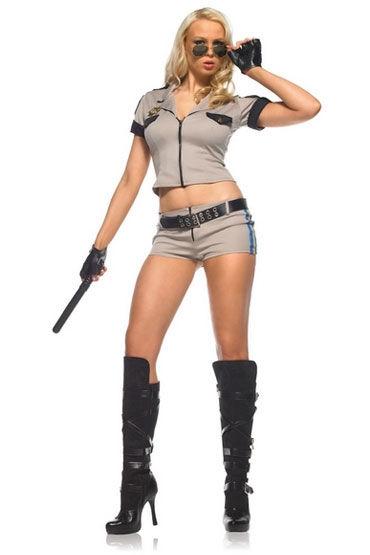 Leg Avenue Шериф Сексапильный костюм с аксессуарами