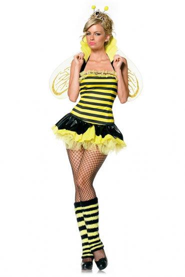 Leg Avenue Королева пчел С гетрами, усиками и крыльями