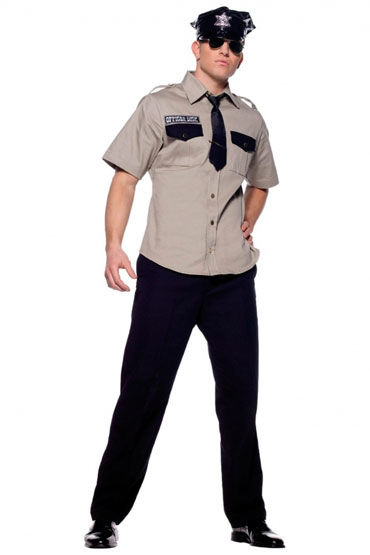 Leg Avenue Офицер полиции, Мужской костюм для ролевых игр - Размер M-L от condom-shop.ru