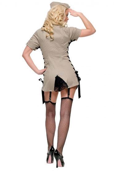 Leg Avenue Армейская девушка Платье с пилоткой