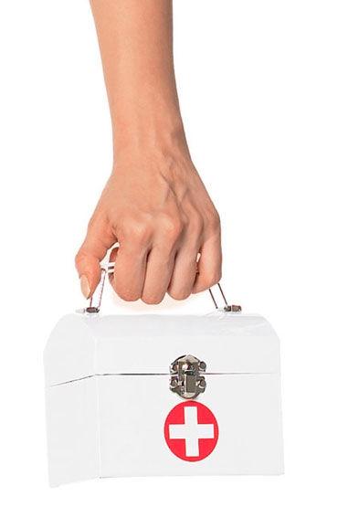 Leg Avenue чемоданчик, белый Для костюма медсестры