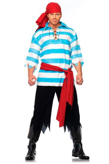 Leg Avenue Пират, С красным поясом и косынкой - Размер S-M
