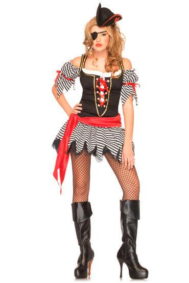 Leg Avenue Пиратка С корсетом и поясом