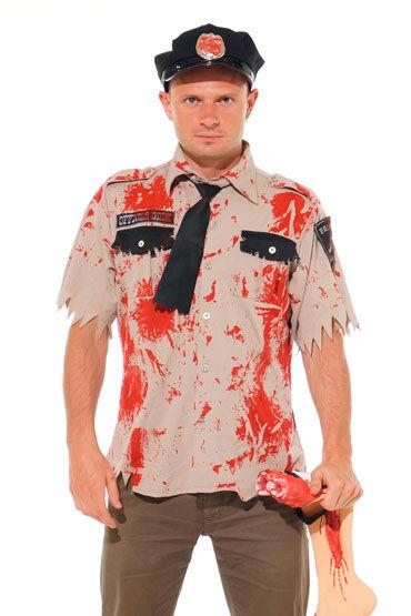 Leg Avenue Зомби шериф С галстуком и кепкой