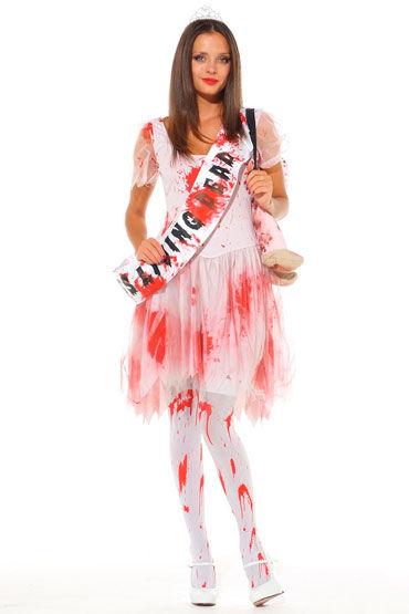 Leg Avenue Королева зомби С короной и лентой ''Miss Living Dead''
