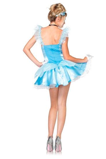 Leg Avenue Голубая фея С пышной юбкой и украшением на голову