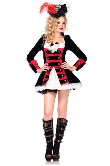 Leg Avenue Капитан пиратов С бархатным жакетом