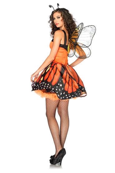 Leg Avenue Бабочка Мини-платье и ободок с усиками