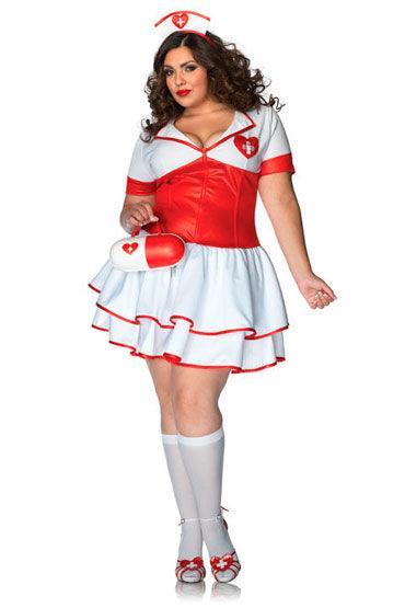 Leg Avenue Naughty Nurse Платье и ободок на голову