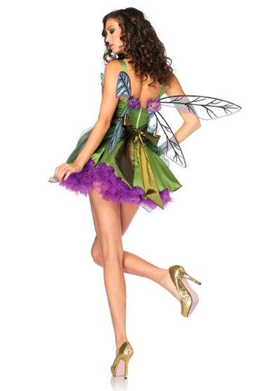 Leg Avenue Лесная фея С поясом и цветочной аппликацией
