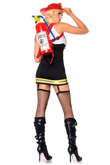 Leg Avenue Пожарник Со светоотражающей отделкой