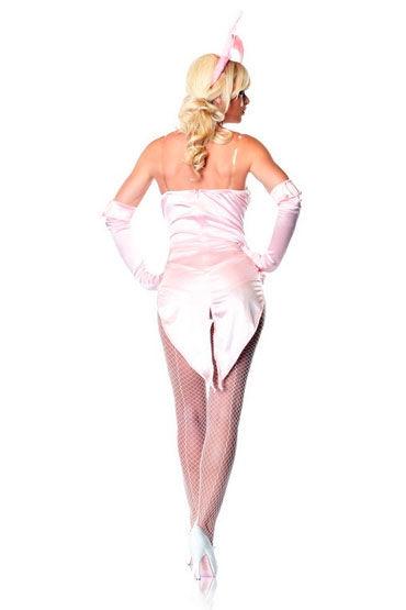 Leg Avenue Зайка, розовый С перчатками и ушками