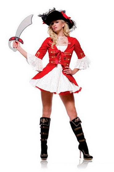 Leg Avenue Пират Роскошный эротичный костюм
