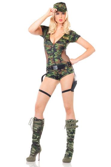 Leg Avenue Солдат С кобурой для пистолета