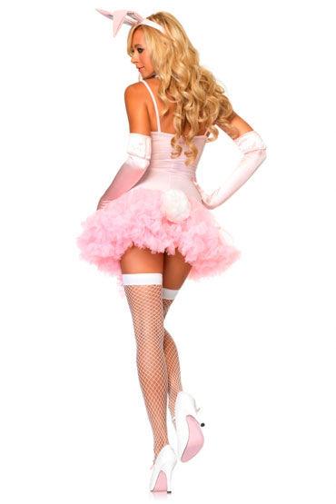 Leg Avenue Зайчик, розовый Соблазнительный набор аксессуаров