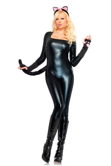 Leg Avenue Кошка Комбинезон с эротичным вырезом на спине