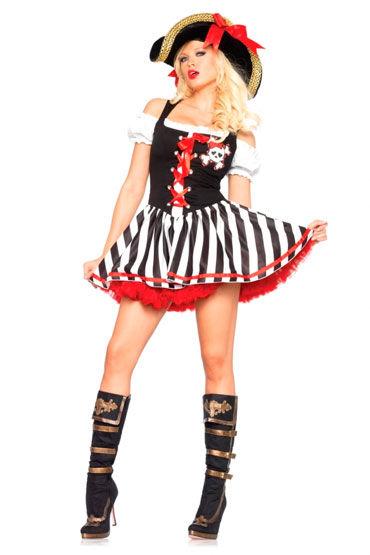 Leg Avenue Пират С пышной юбкой и на шнуровке