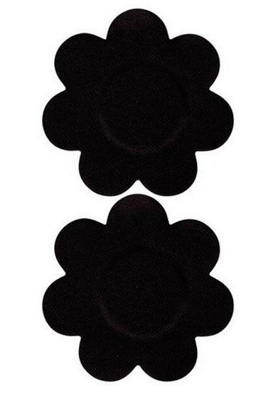 Leg Avenue пэстисы, черные В форме цветочков