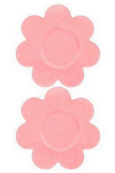 Leg Avenue украшение на соски, телесное Многоразовые, в форме цветочков