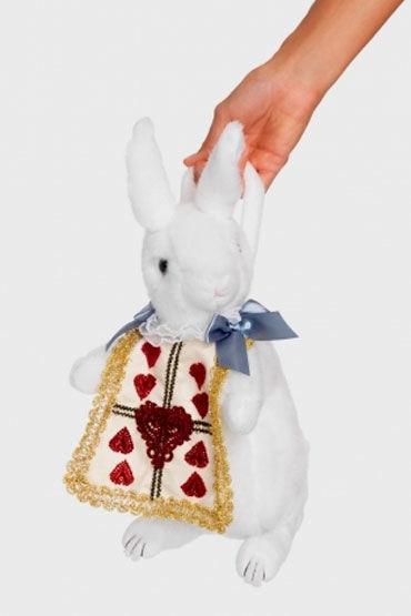 Leg Avenue сумка Кролик Плюшевая, белая
