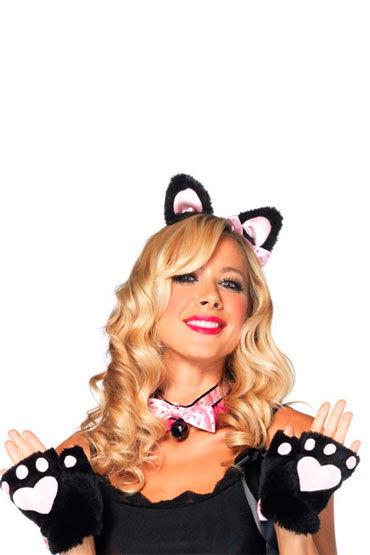 Leg Avenue набор Плюшевый котенок Очаровательные аксессуары